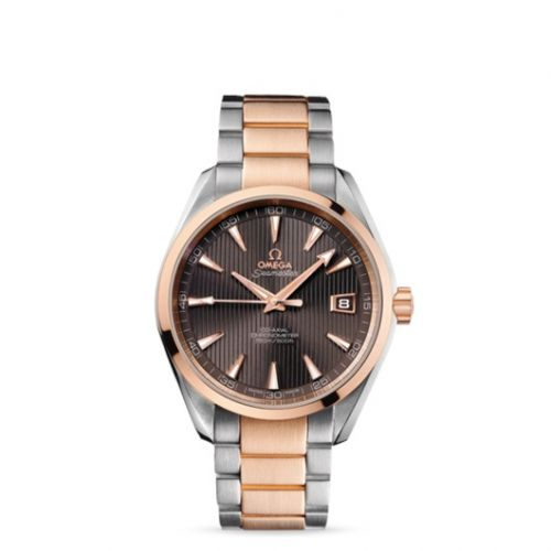 231.20.42.21.06.001 : Omega Seamaster Aqua Terra 150M Co-Axial 41.5 Stainless Steel / Red Gold / Grey / Bracelet