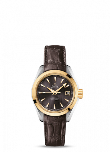 231.23.30.20.06.002 : Omega Seamaster Aqua Terra 150M Co-Axial 30 Stainless Steel / Yellow Gold / Grey