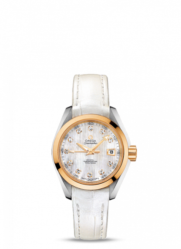 231.23.30.20.55.002 : Omega Seamaster Aqua Terra 150M Co-Axial 30 Stainless Steel / Yellow Gold / MOP