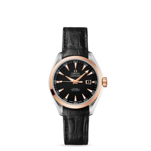 231.23.34.20.01.002 : Omega Seamaster Aqua Terra 150M Co-Axial 34 Stainless Steel / Red Gold / Black