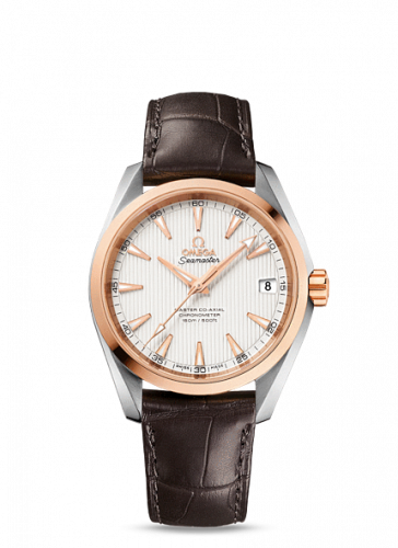 231.23.39.21.02.001 : Omega Seamaster Aqua Terra 150M Master Co-Axial 38.5 Stainless Steel / Red Gold / Silver