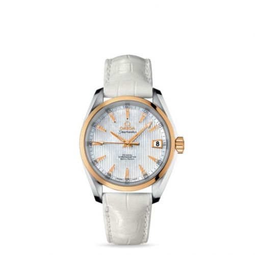 231.23.39.21.55.002 : Omega Seamaster Aqua Terra 150M Co-Axial 38.5 Stainless Steel / Yellow Gold / MOP