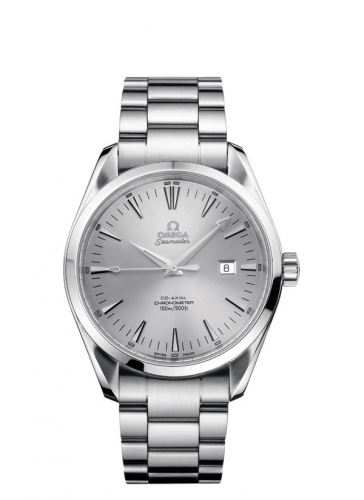 2502.30.00 : Omega Seamaster Aqua Terra 150M Co-Axial 42.2 Stainless Steel / Silver / Bracelet