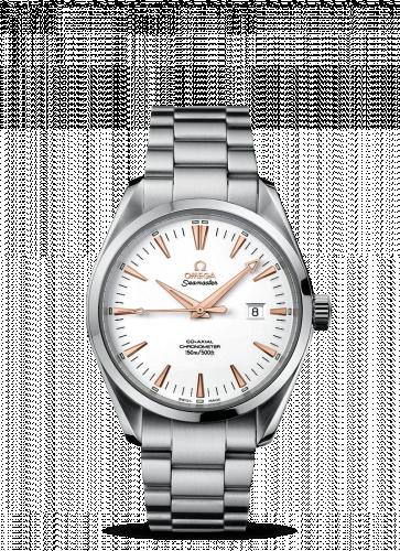 2503.34.00 : Omega Seamaster Aqua Terra 150M Co-Axial 39.2 Stainless Steel / White / Bracelet