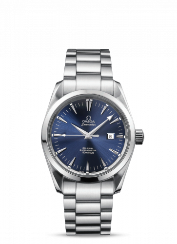 2504.80.00 : Omega Seamaster Aqua Terra 150M Co-Axial 36.2 Stainless Steel / Blue / Bracelet