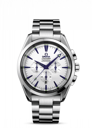 2512.30.00 : Omega Seamaster Aqua Terra 150M Automatic 42.2 Chronograph Stainless Steel / Silver / Bracelet