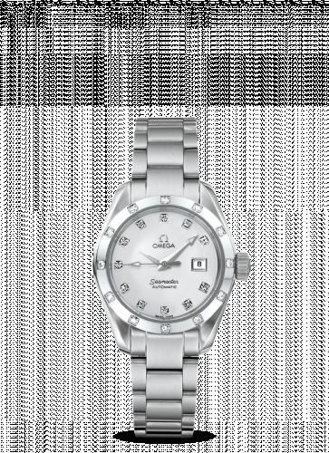 2564.75.00 : Omega Seamaster Aqua Terra 150M Automatic 29.2 Stainless Steel / Diamond / MOP  / Bracelet