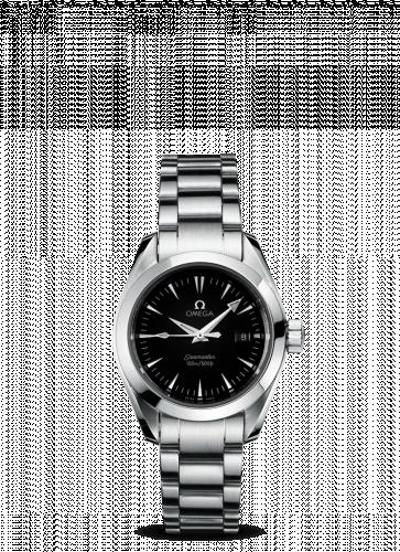 2577.50.00 : Omega Seamaster Aqua Terra 150M Quartz 29.2 Stainless Steel / Black / Bracelet