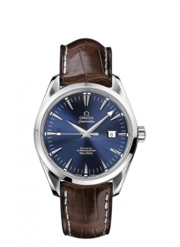 2802.80.37 : Omega Seamaster Aqua Terra 150M Co-Axial 42.2 Stainless Steel / Blue