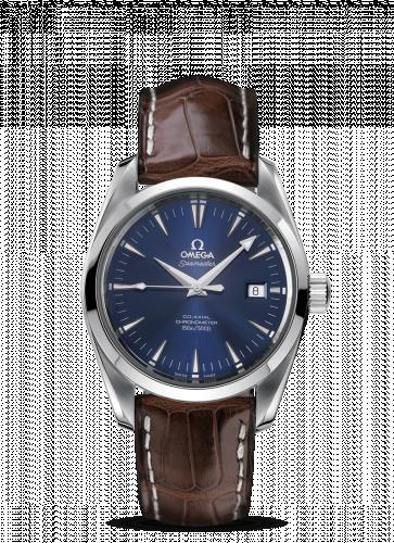 2803.80.37 : Omega Seamaster Aqua Terra 150M Co-Axial 39.2 Stainless Steel / Blue