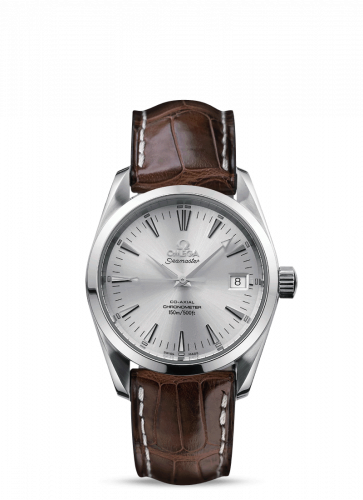 2804.30.37 : Omega Seamaster Aqua Terra 150M Co-Axial 36.2 Stainless Steel / Silver