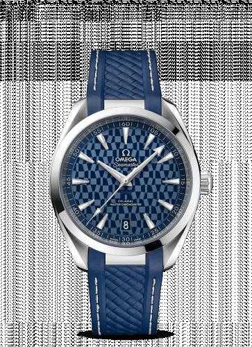 522.12.41.21.03.001 : Omega Seamaster Aqua Terra 150M Master Chronometer 41 Stainless Steel / Blue / Tokyo 2020 Olympics
