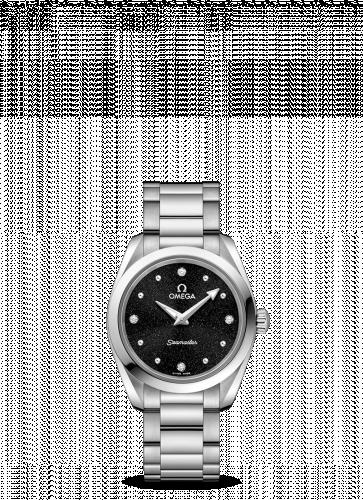 Omega 220.10.28.60.51.001 : Seamaster Aqua Terra 150M Quartz 28 Stainless Steel / Black / Bracelet