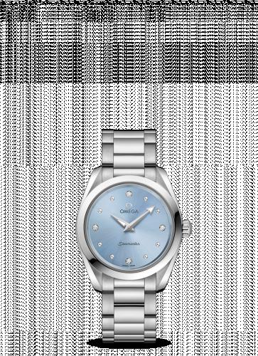 Omega 220.10.28.60.53.001 : Seamaster Aqua Terra 150M Quartz 28 Stainless Steel / Blue / Bracelet