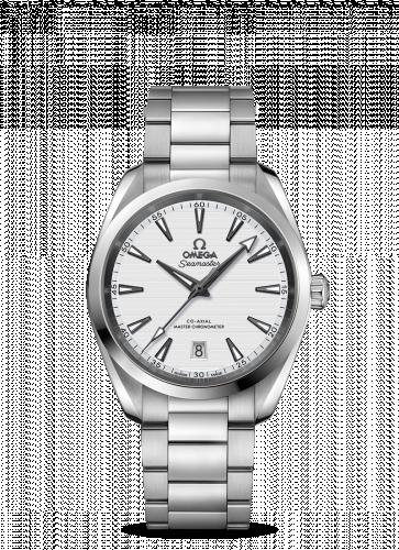 220.10.38.20.02.001 : Omega Seamaster Aqua Terra 150M Master Chronometer 38 Stainless Steel / Silver / Bracelet