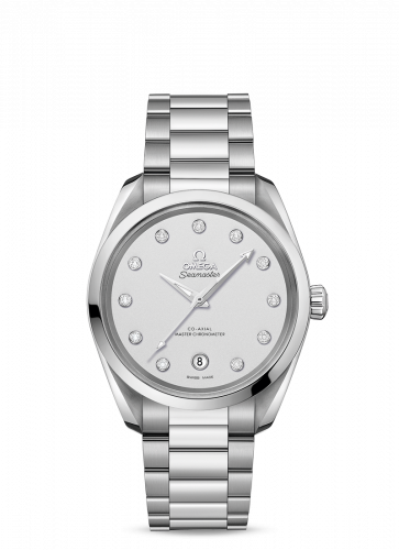220.10.38.20.52.001 : Omega Seamaster Aqua Terra 150M Master Chronometer 38 Stainless Steel / Silver / Bracelet