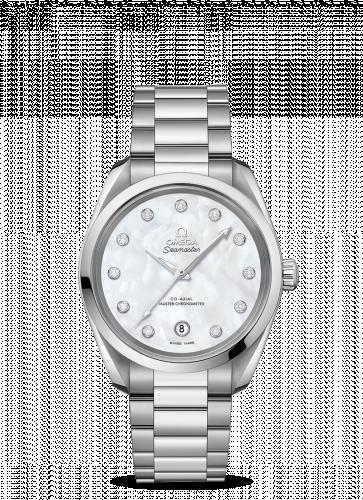 220.10.38.20.55.001 : Omega Seamaster Aqua Terra 150M Master Chronometer 38 Stainless Steel / MOP / Bracelet