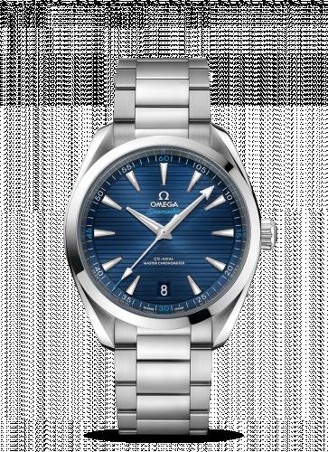 220.10.41.21.03.001 : Omega Seamaster Aqua Terra 150M Master Chronometer 41 Stainless Steel / Blue / Bracelet