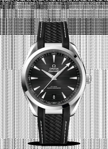 220.12.41.21.01.001 : Omega Seamaster Aqua Terra 150M Master Chronometer 41 Stainless Steel / Black / Rubber