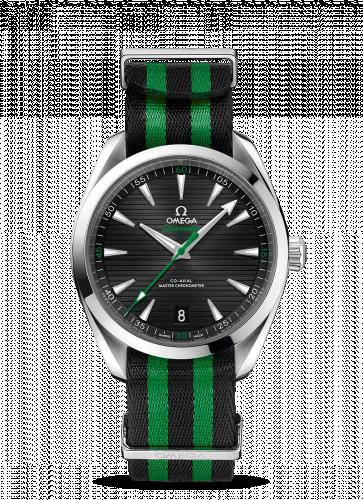 220.12.41.21.01.002 : Omega Seamaster Aqua Terra 150M Master Chronometer 41 Stainless Steel / Golf Edition / NATO