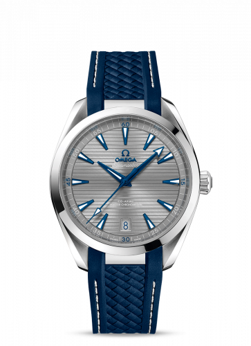 220.12.41.21.06.001 : Omega Seamaster Aqua Terra 150M Master Chronometer 41 Stainless Steel / Grey / Rubber