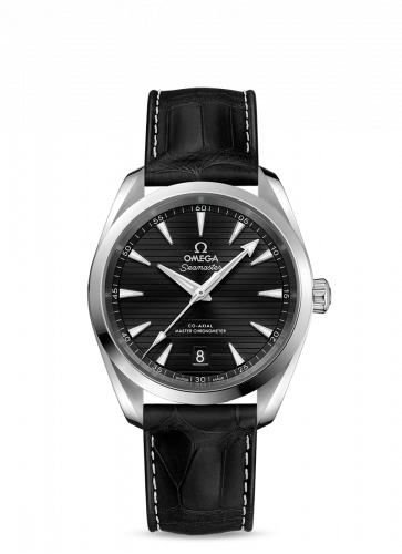 Omega 220.13.38.20.01.001 : Seamaster Aqua Terra 150M Master Chronometer 38 Stainless Steel / Black / Alligator
