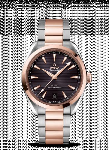220.20.41.21.06.001 : Omega Seamaster Aqua Terra 150M Master Chronometer 41 Stainless Steel / Sedna Gold / Grey / Bracelet