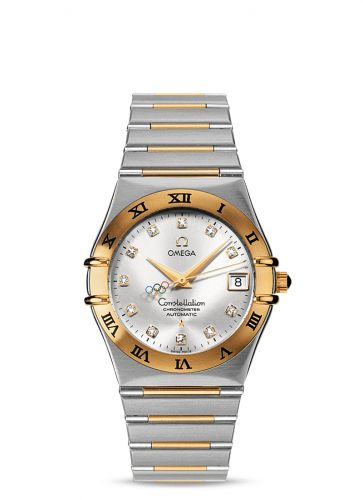 Omega 111.20.36.10.52.001 : Constellation Automatic 36 Stainless Steel / Yellow Gold / Beijing Olympics 2008