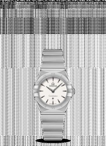 Omega 131.10.25.60.02.001 : Constellation Manhattan 25 Quartz Stainless Steel / Silver
