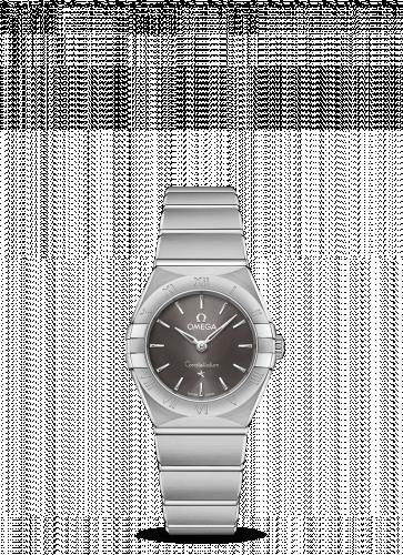 Omega 131.10.25.60.06.001 : Constellation Manhattan 25 Quartz Stainless Steel / Grey