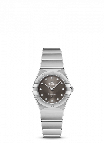 Omega 131.10.25.60.56.001 : Constellation Manhattan 25 Quartz Stainless Steel / Grey Diamond