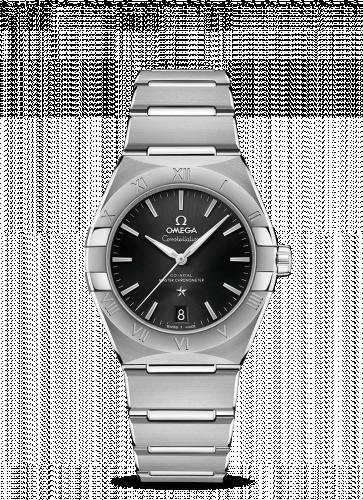 Omega 131.10.36.20.01.001 : Constellation Master Chronometer 36 Stainless Steel / Black / Bracelet