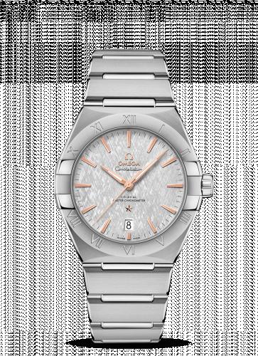 Omega 131.10.39.20.06.001 : Constellation Master Chronometer 39 Stainless Steel / Silver / Bracelet