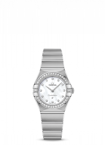 Omega 131.15.25.60.55.001 : Constellation Manhattan 25 Quartz Stainless Steel / MOP / Diamond