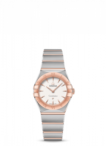 Omega 131.20.25.60.02.001 : Constellation Manhattan 25 Quartz Stainless Steel / Sedna Gold / Silver