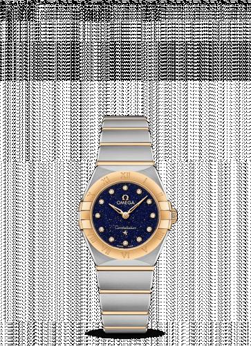 Omega 131.20.25.60.53.001 : Constellation Manhattan 25 Quartz Stainless Steel / Yellow Gold / Aventurine