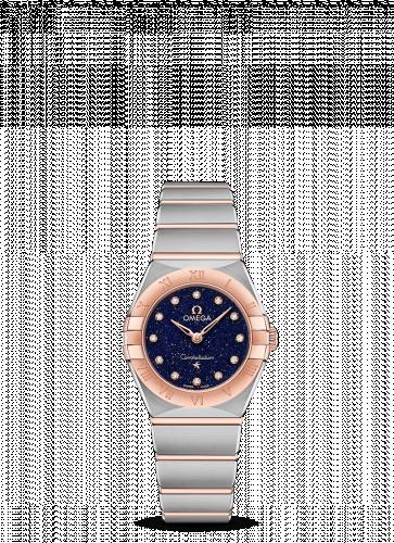 Omega 131.20.25.60.53.002 : Constellation Manhattan 25 Quartz Stainless Steel / Sedna Gold / Aventurine