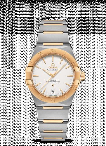 Omega 131.20.36.20.02.002 : Constellation Master Chronometer 36 Stainless Steel / Yellow Gold / Silver / Bracelet