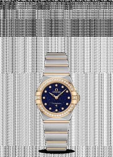 Omega 131.25.25.60.53.001 : Constellation Manhattan 25 Quartz Stainless Steel / Yellow Gold / Aventurine / Diamond