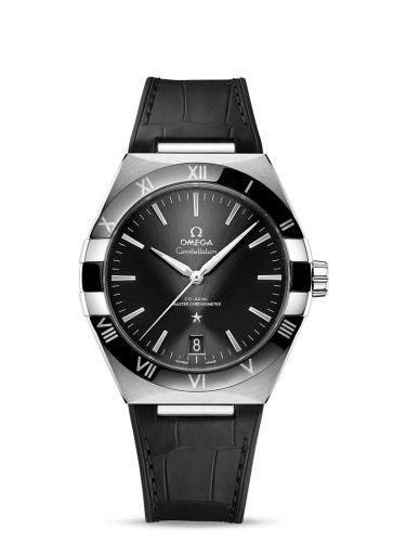 131.33.41.21.01.001 : Omega Constellation Master Chronometer 41 Stainless Steel / Ceramic / Black