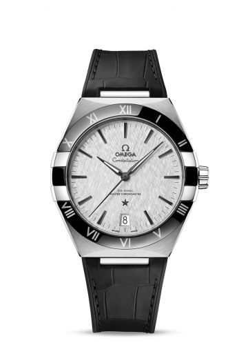 131.33.41.21.06.001 : Omega Constellation Master Chronometer 41 Stainless Steel / Ceramic / Silver