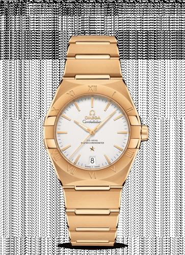 Omega 131.50.36.20.02.002 : Constellation Master Chronometer 36 Yellow Gold / Silver / Bracelet