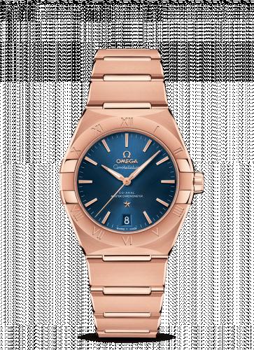 Omega 131.50.36.20.03.001 : Constellation Master Chronometer 36 Sedna / Blue / Bracelet