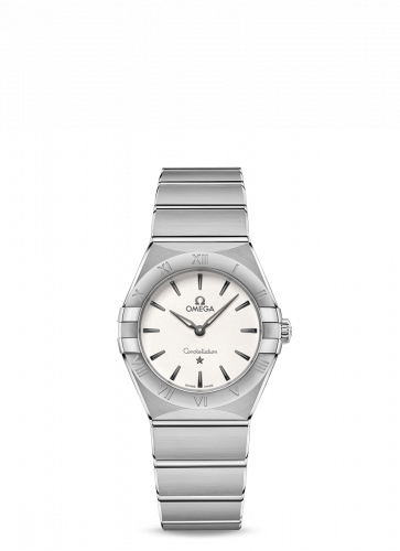 Omega 131.10.28.60.02.001 : Constellation Manhattan 28 Quartz Stainless Steel / Silver