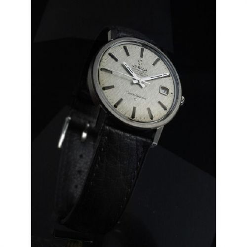 ST 168.0018 : Omega Constellation Stainless Steel / Silver Silk / Strap