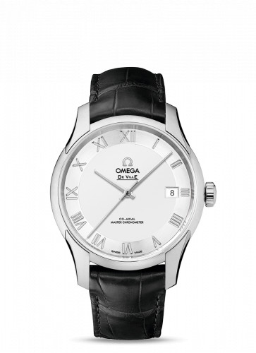 433.13.41.21.02.001 : Omega De Ville Hour Vision Master Chronometer Stainless Steel / Silver