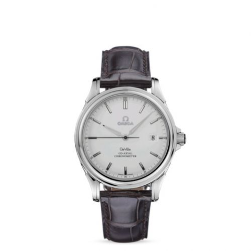 Omega 4831.31.32 : De Ville Co-Axial 37.5 Stainless Steel / Silver