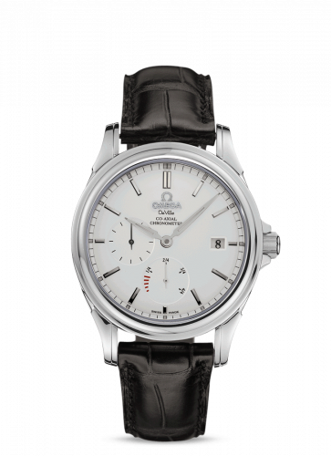 Omega 4832.31.32 : De Ville Co-Axial 38.7 Power Reserve Stainless Steel / Silver