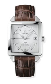 Omega 7802.30.32 : De Ville Byzantium Co-Axial 33.4 Co-Axial Stainless Steel / Silver / Russia
