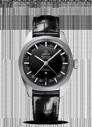 130.33.41.22.01.001 : Omega Globemaster Annual Calendar Stainless Steel / Black